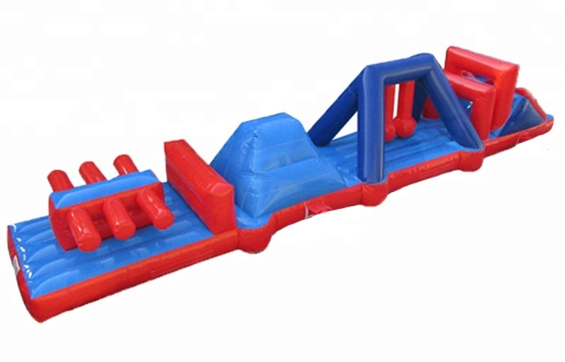 Water Swimming pool Bouncy Obstacle Course castles for sale