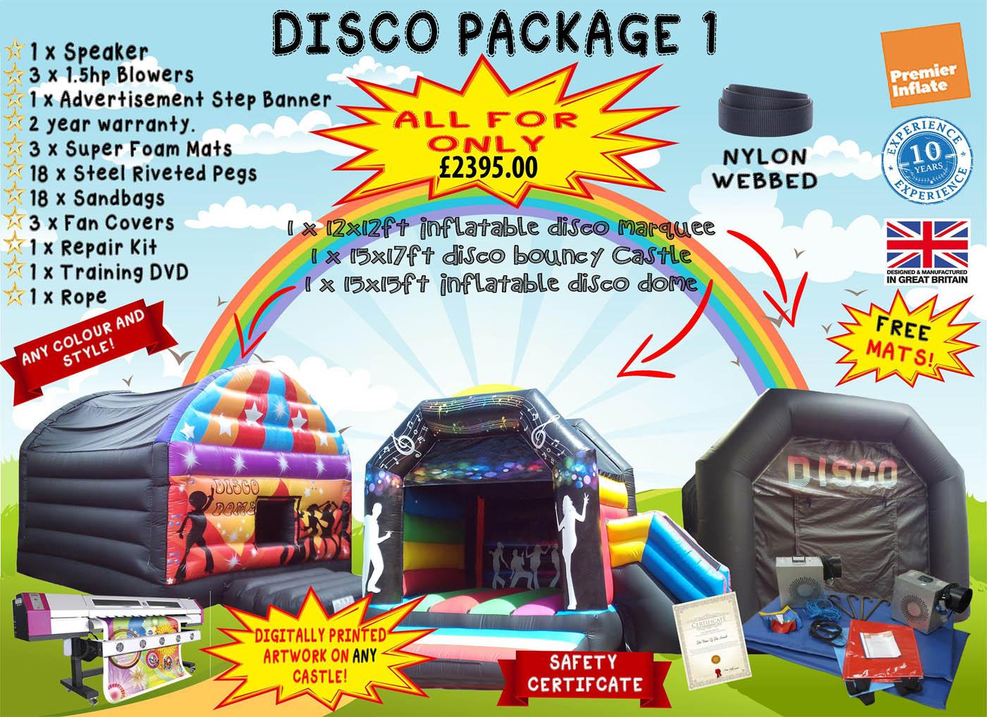 Commercial Bouncy Castle Package Deals UK