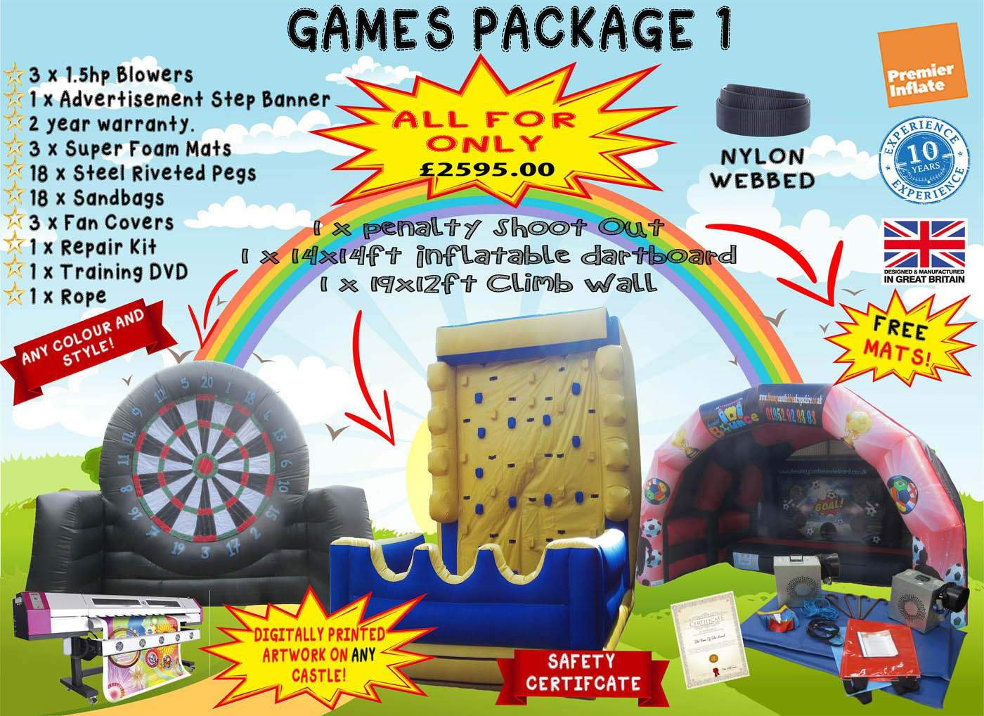 Bouncy Castle Package Deals For Sale | Premier Inflate - Premier Inflate