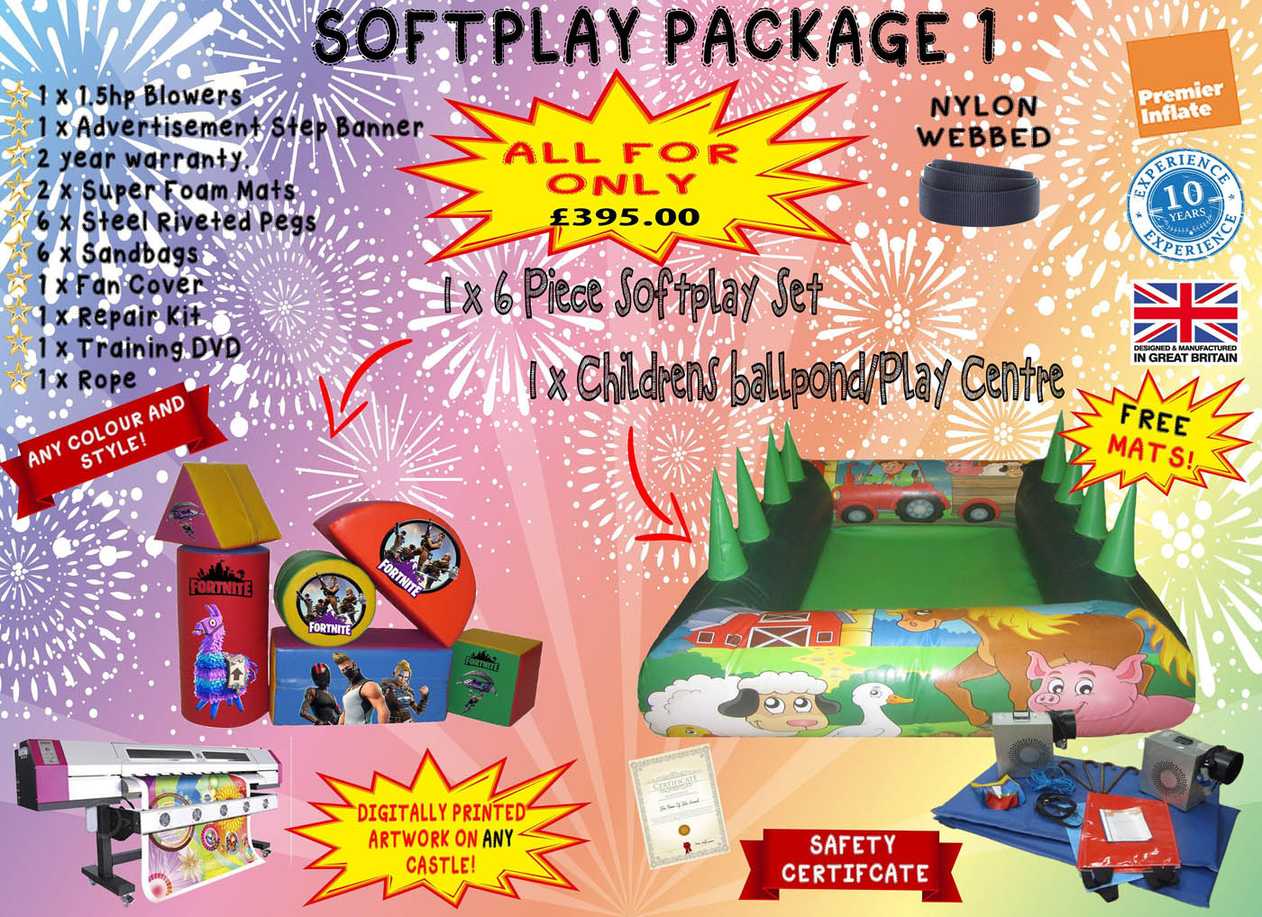 Soft Play Package Deals for Sale UK