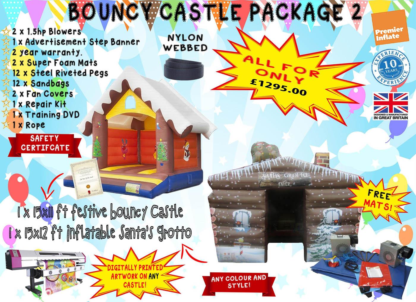 UK Bouncy Castle Package Deals for Sale