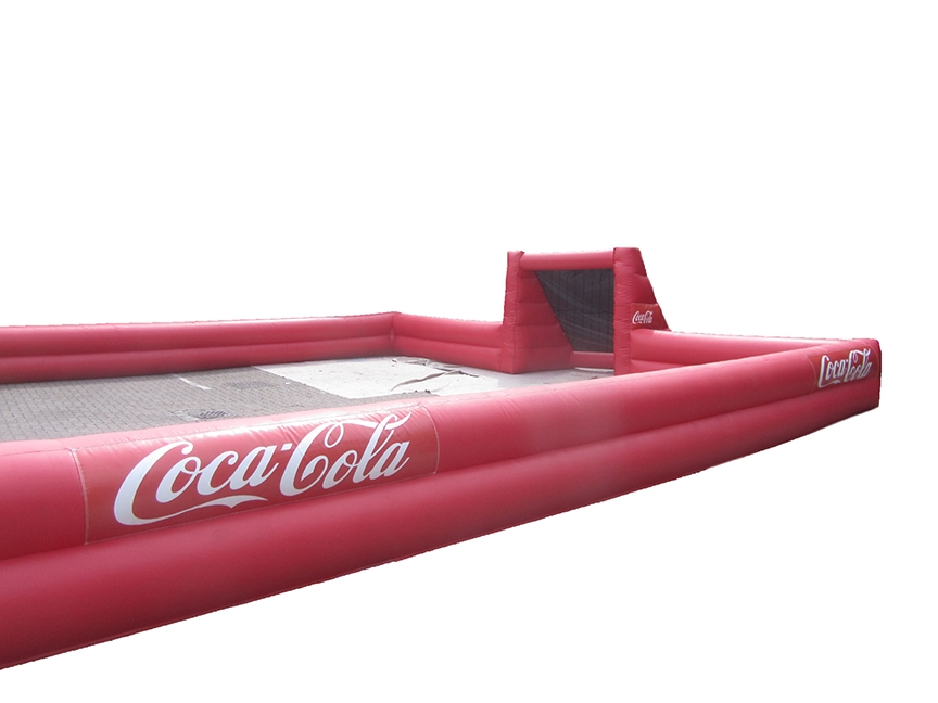Branded Inflatable Football Pitch