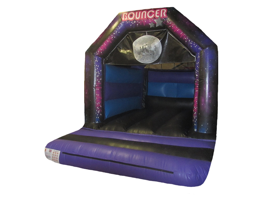 Childrens Commercial Disco Bouncy Castle for Sale