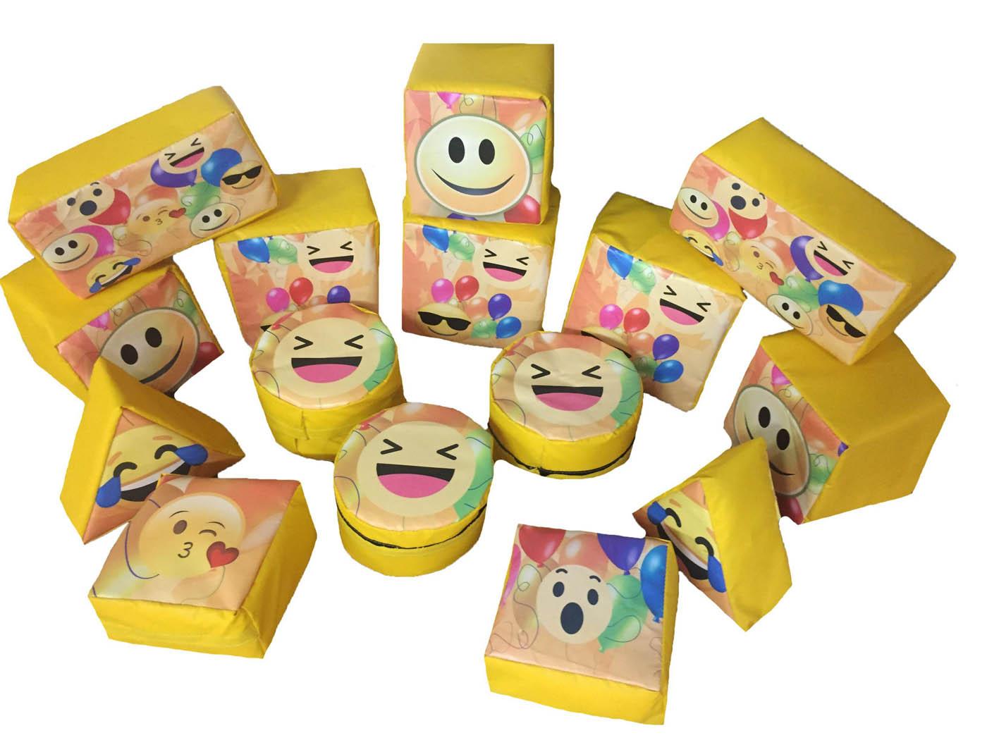 Emoji Soft Play Shape Set for Sale