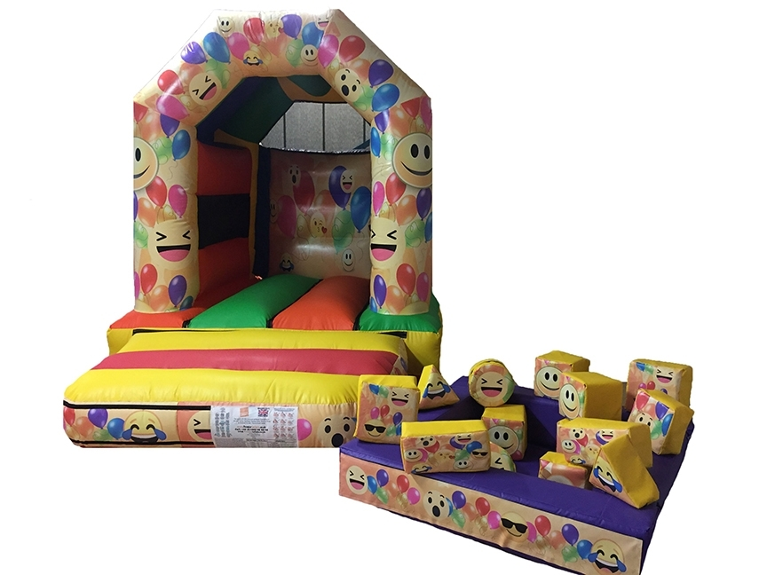 Commercial Toddler Bouncy Castle with Soft Play Set