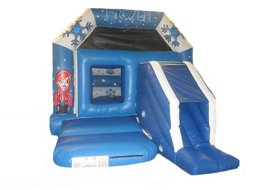 Fully Enclosed Front Slide Combi Bouncer