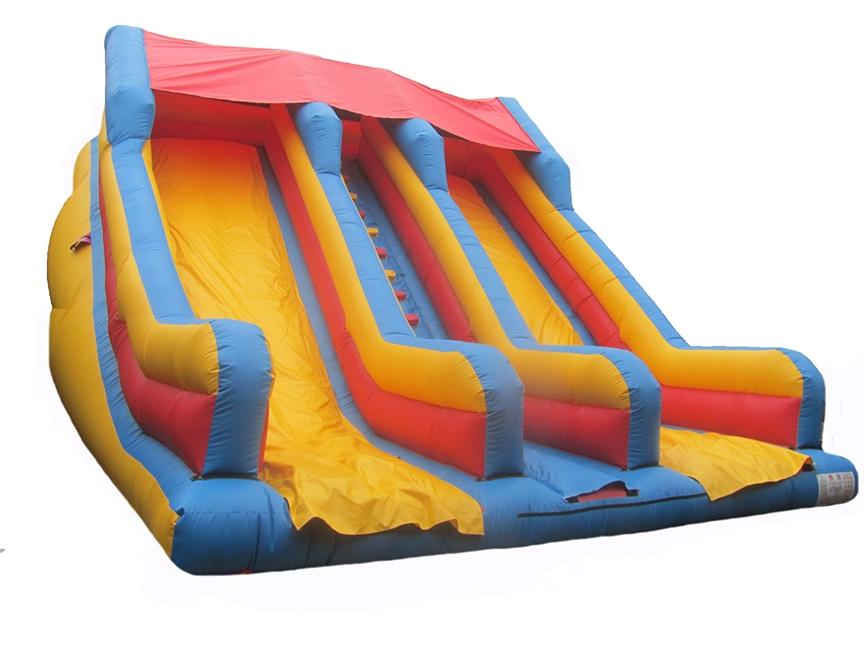 Plain Inflatable Mega Slide for Sale