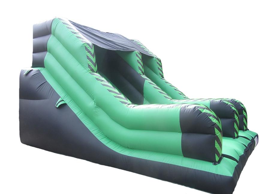Plain Mega Bouncy Slide