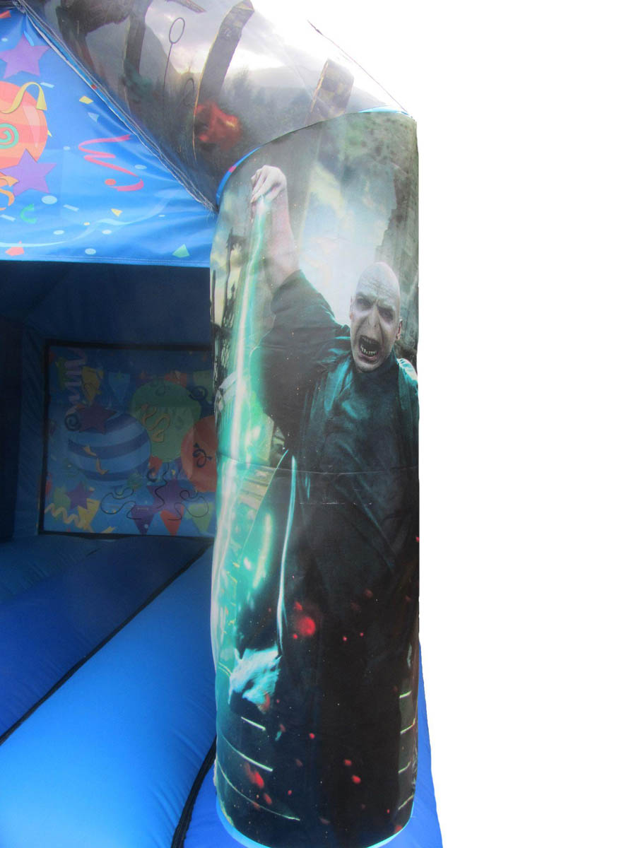 Harry-potter-bouncy-castle-velcro-art-work-leg-compressor