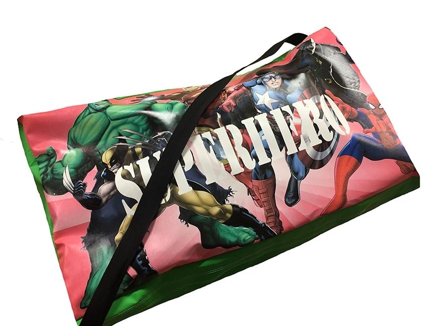 Superhero Soft Play Bag