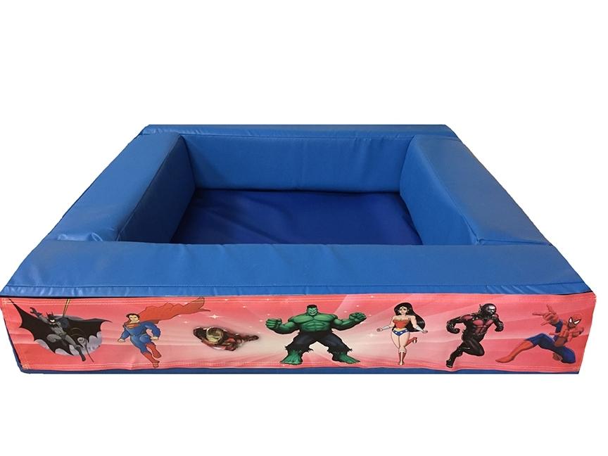 Superhero Themed Velcro Ball Pond