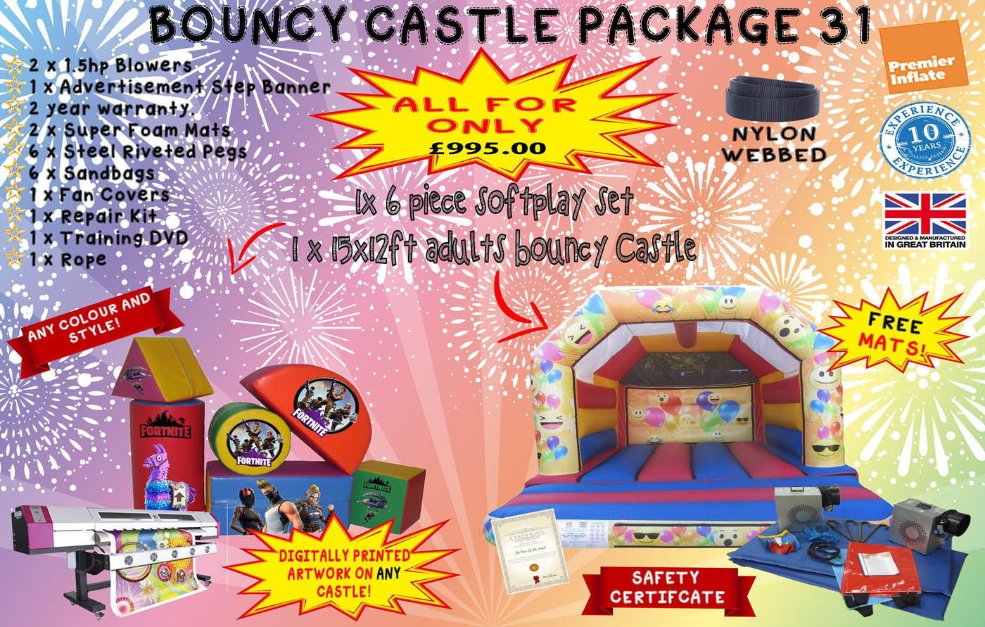 Inflatable-bouncy-castle-package-31-compressor