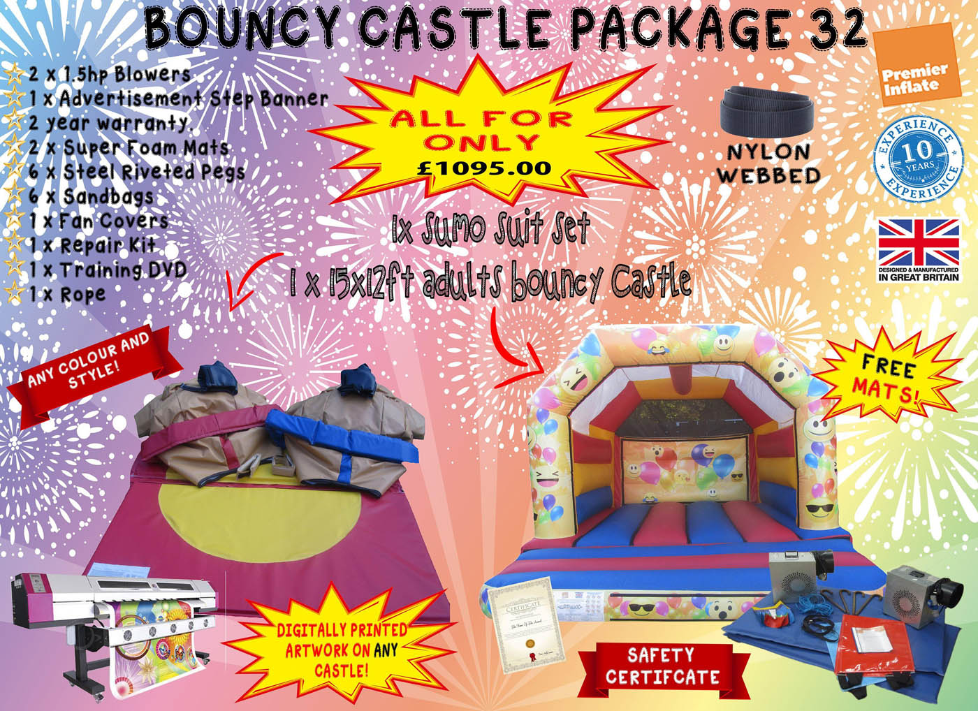 Inflatable-bouncy-castle-package-32-compressor