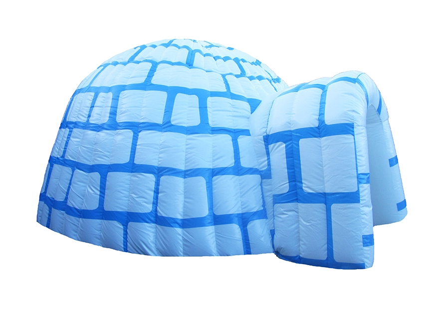 Inflatable Igloo Building
