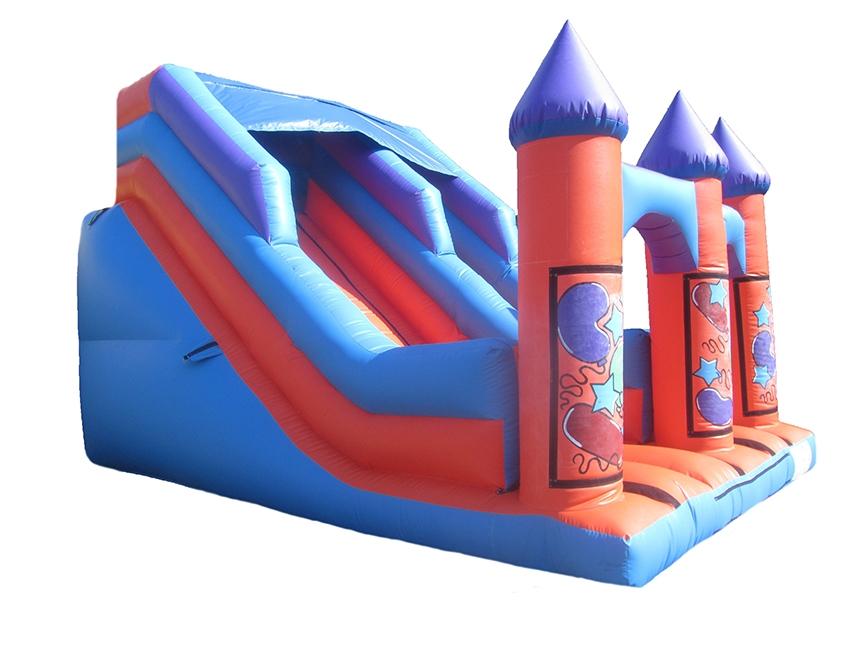 Inflatable-party-turret-top-slide-compressor