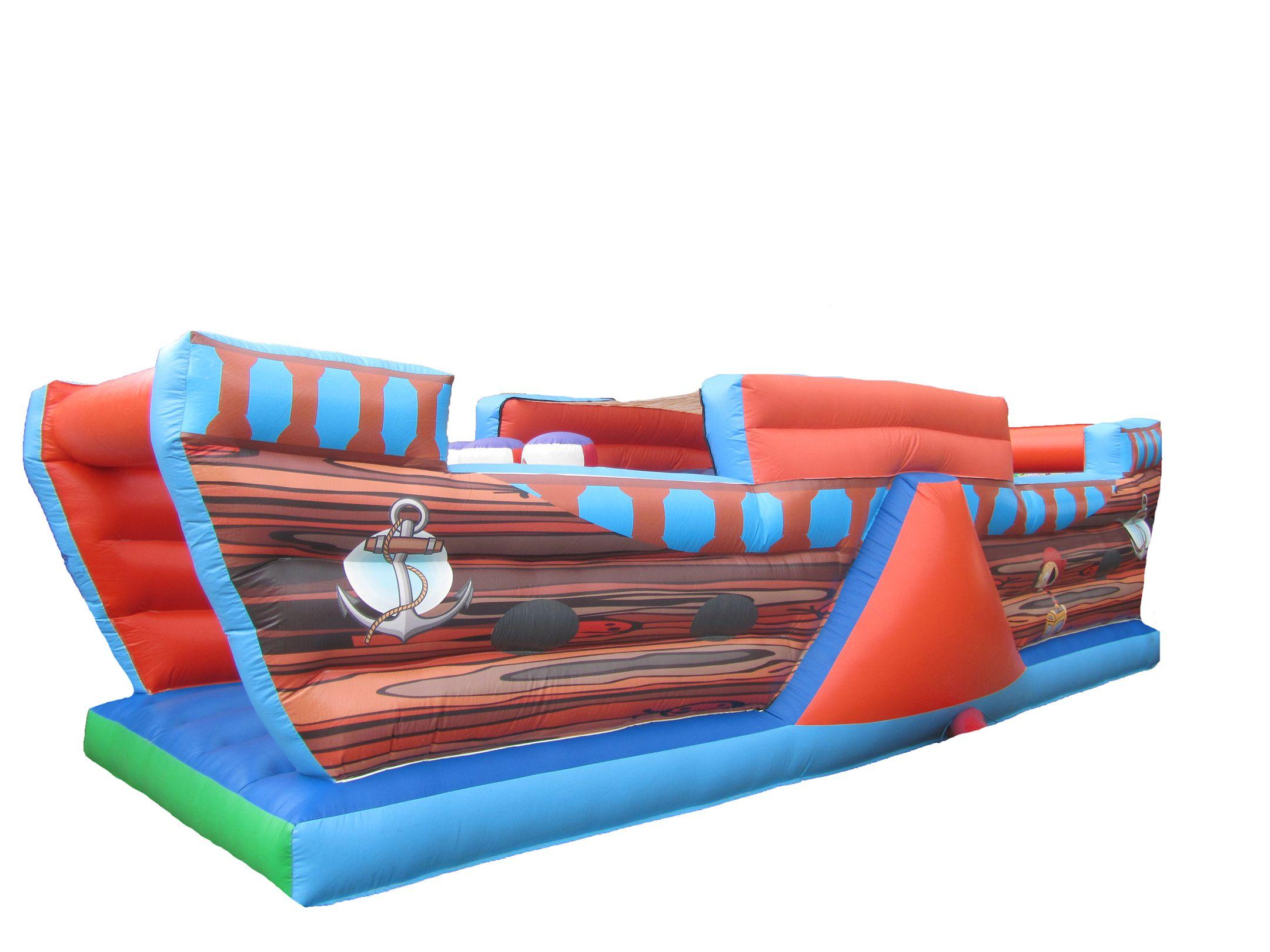 Inflatable Pirate Obstacle Course for Sale