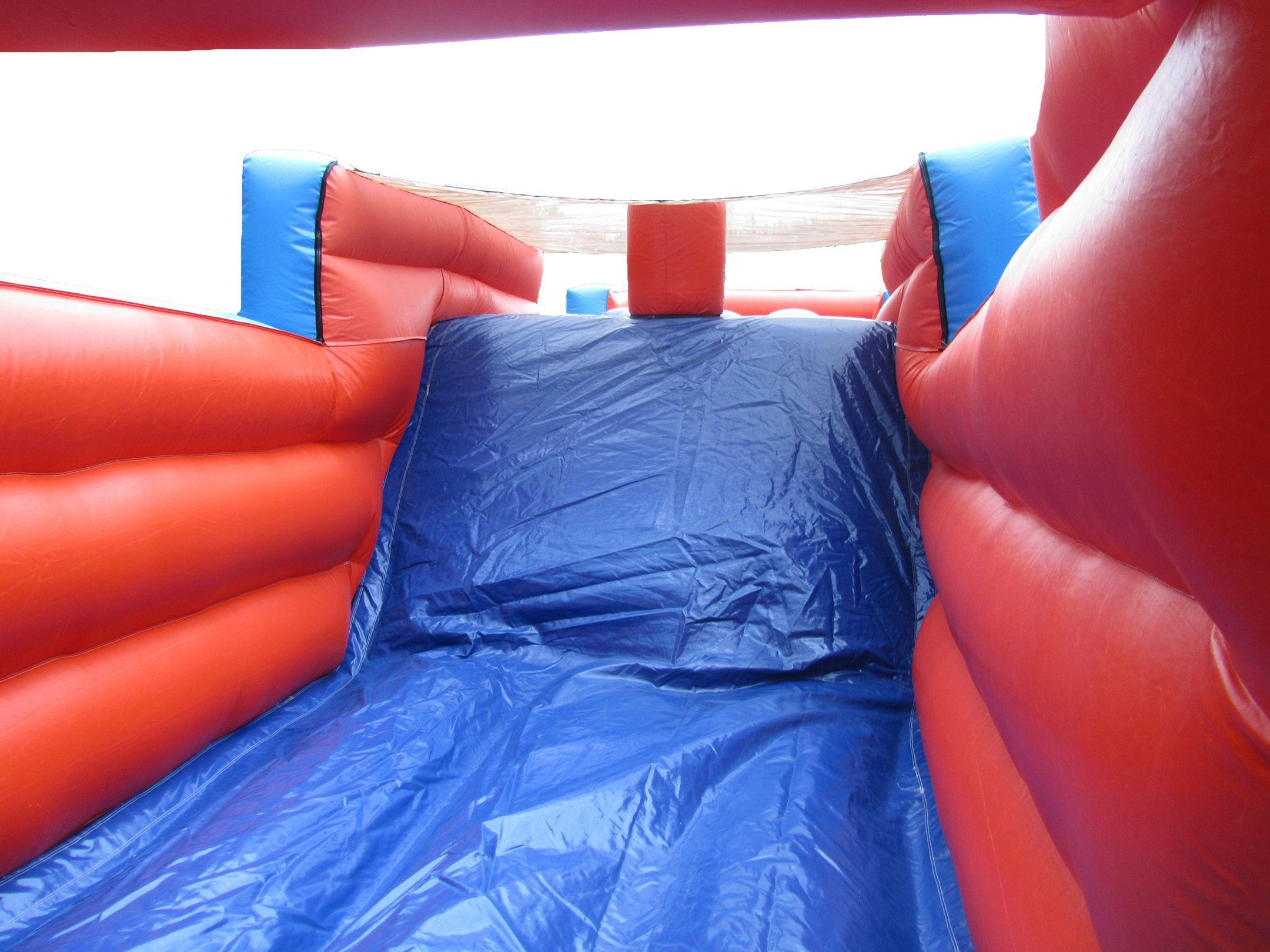 Bouncy Slide on Obstacle Course