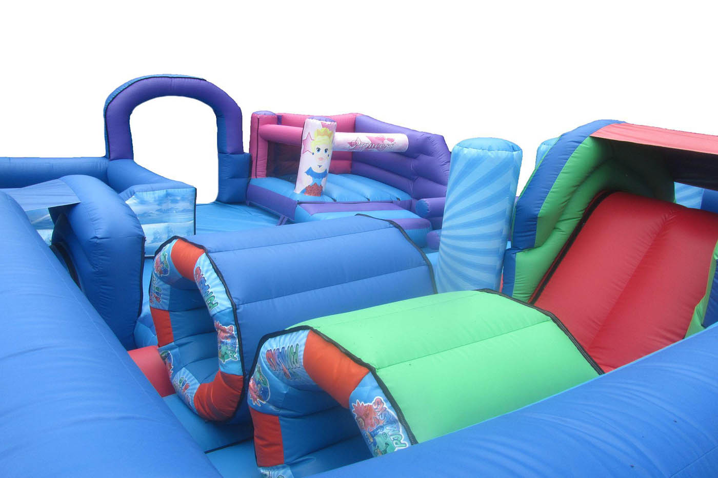 Inflatable Play Park Obstacles