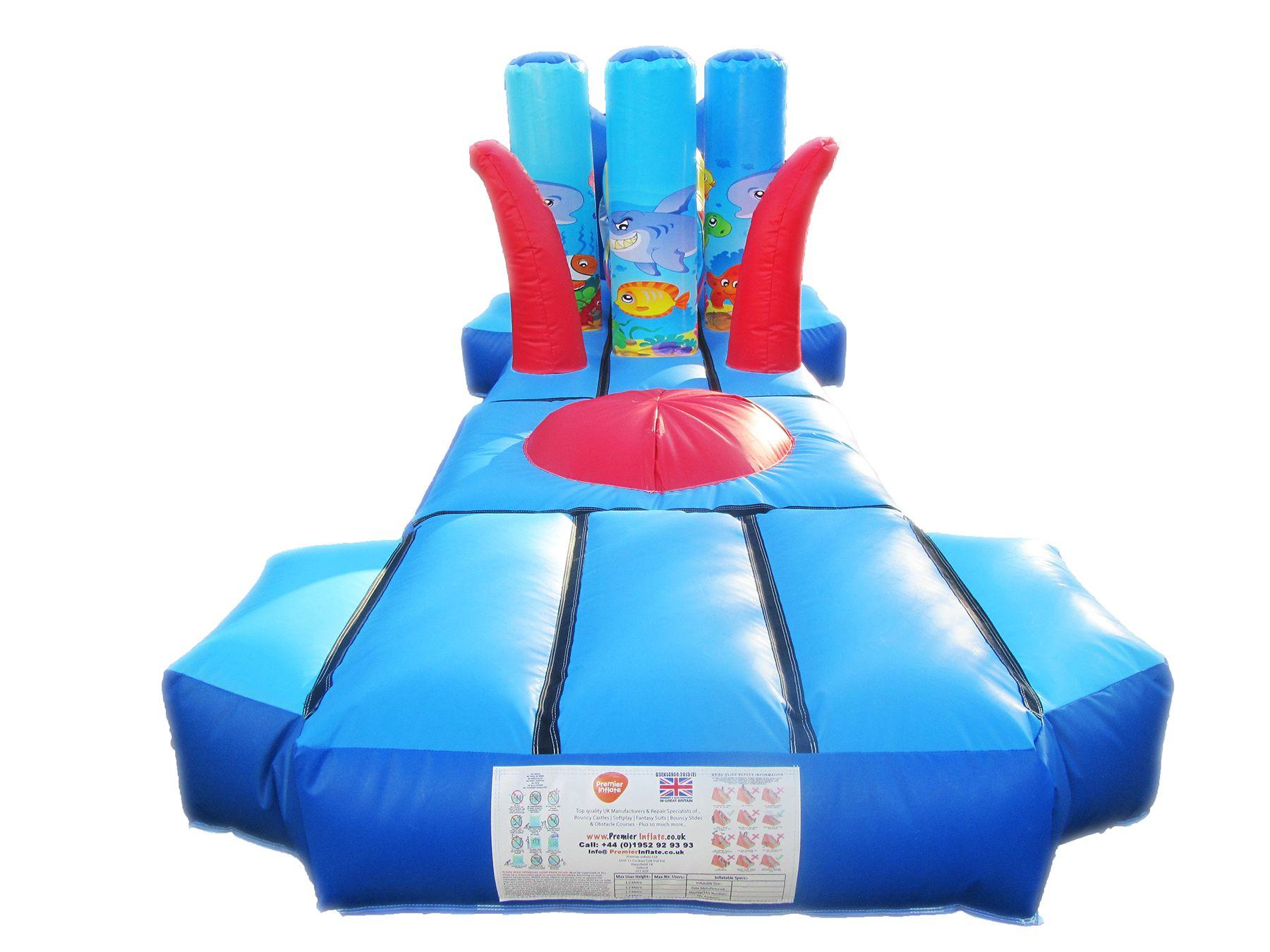 Inflatable water under the sea obstacle course 2 compressor