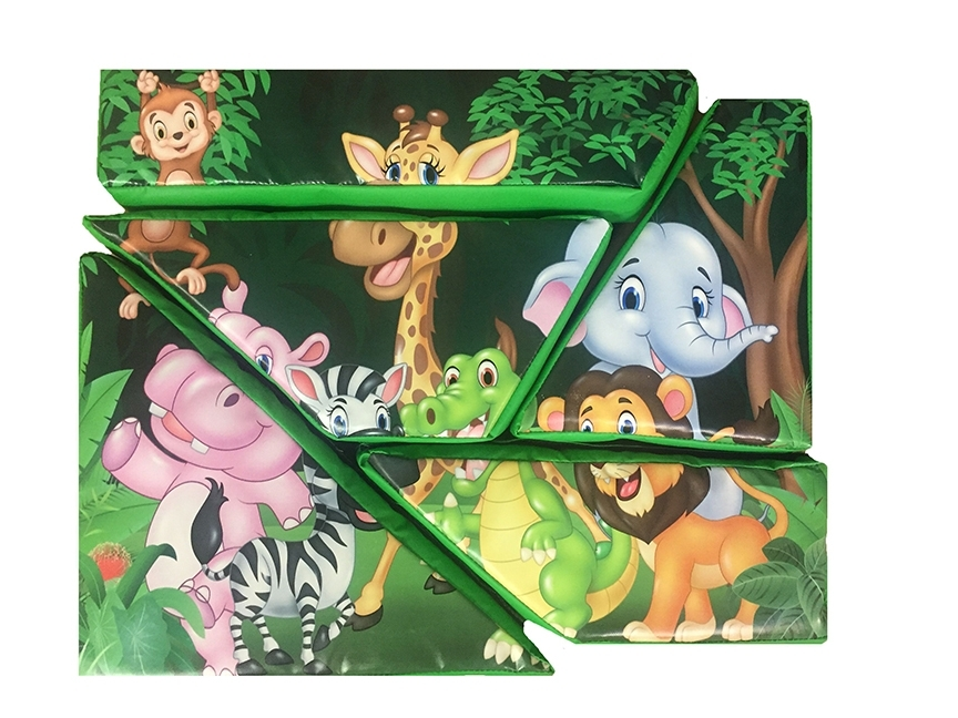 Jungle Soft Play Puzzle