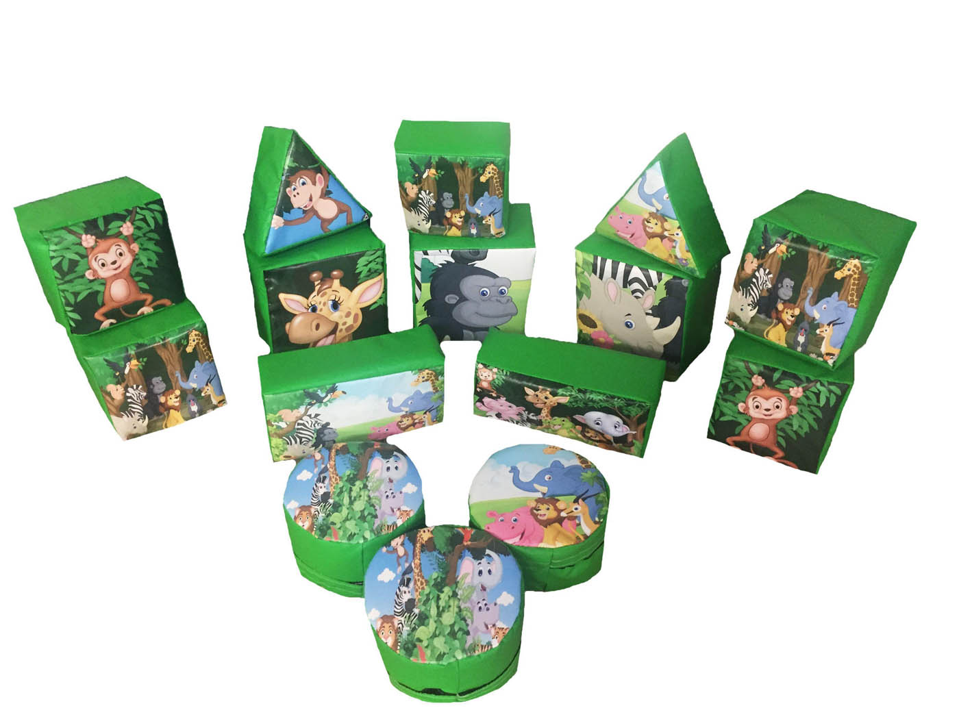 Jungle Soft Play Set for Sale