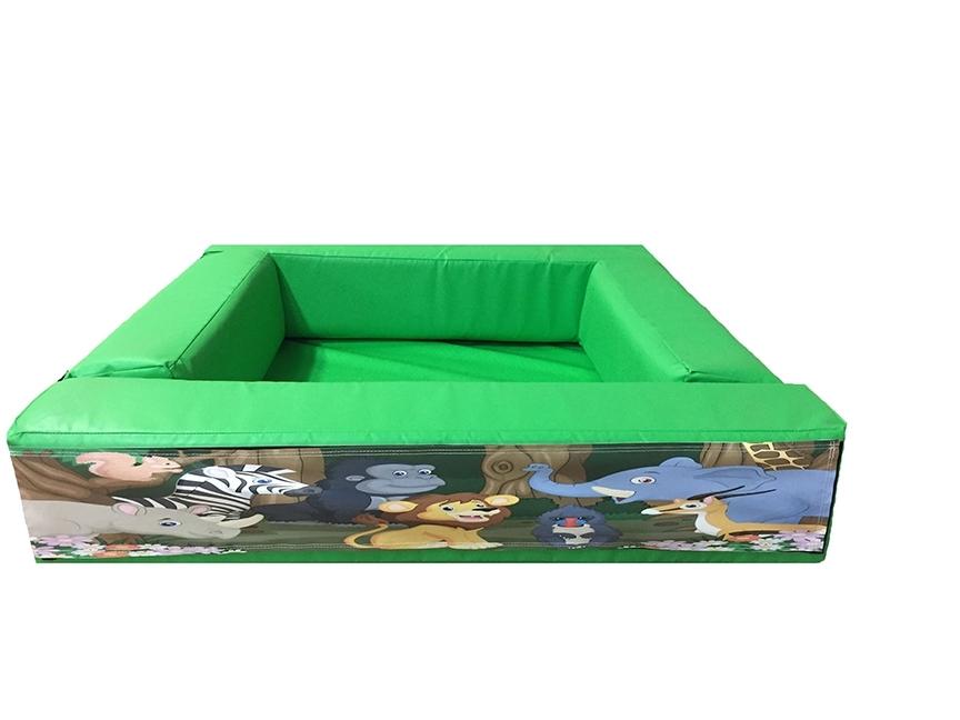 Jungle Soft Play Velcro Ball Pond