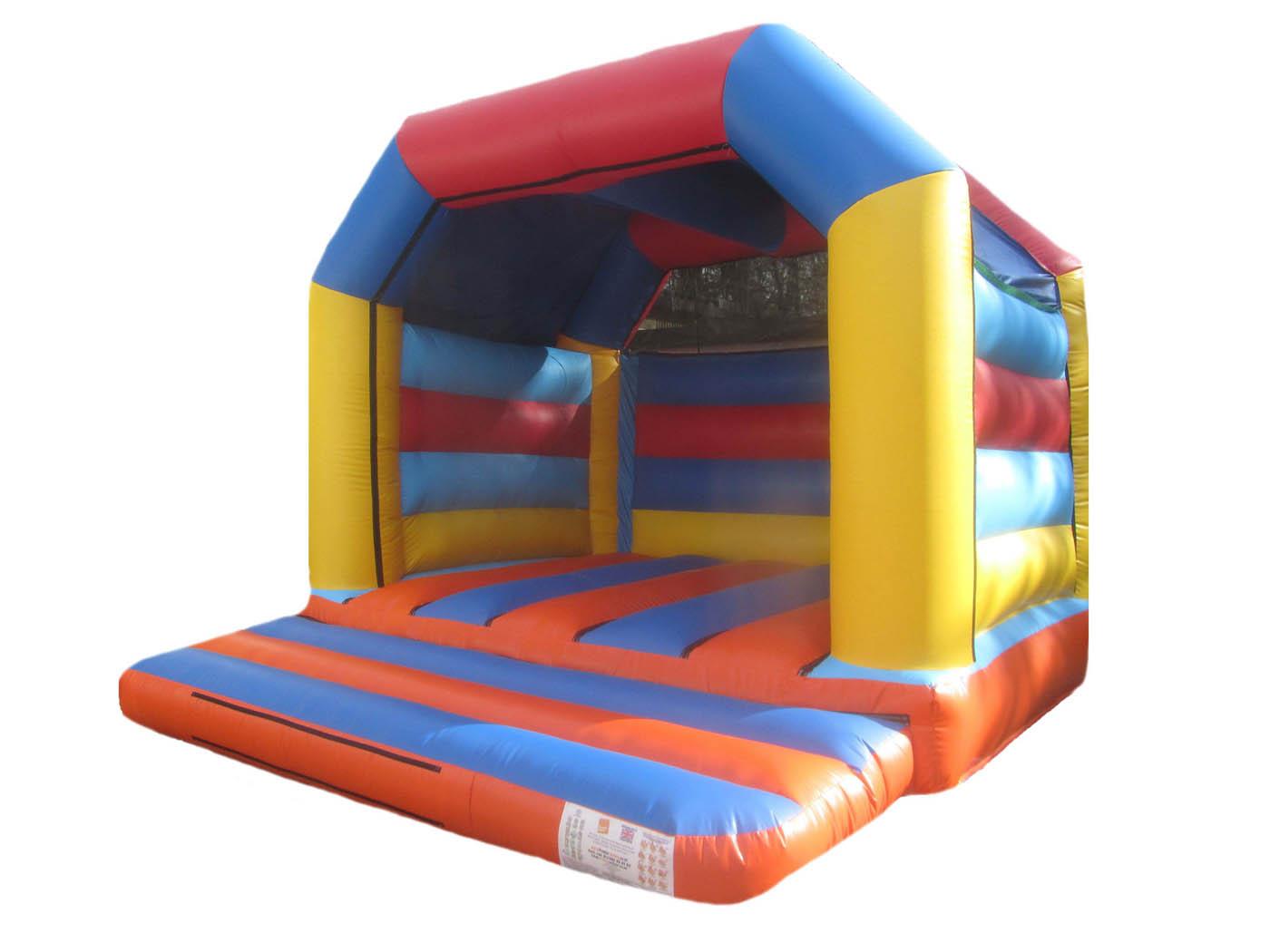 Plain Adults Bouncy Castle