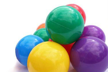 Plastic Ball Pond Balls