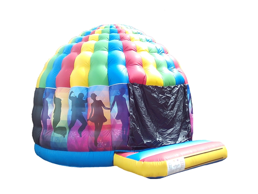 Printed-disco-dome-inflatable-compressor
