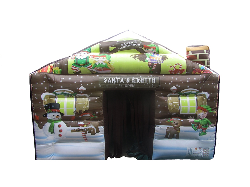 Santas Grotto Christmas Inflatable for Sale