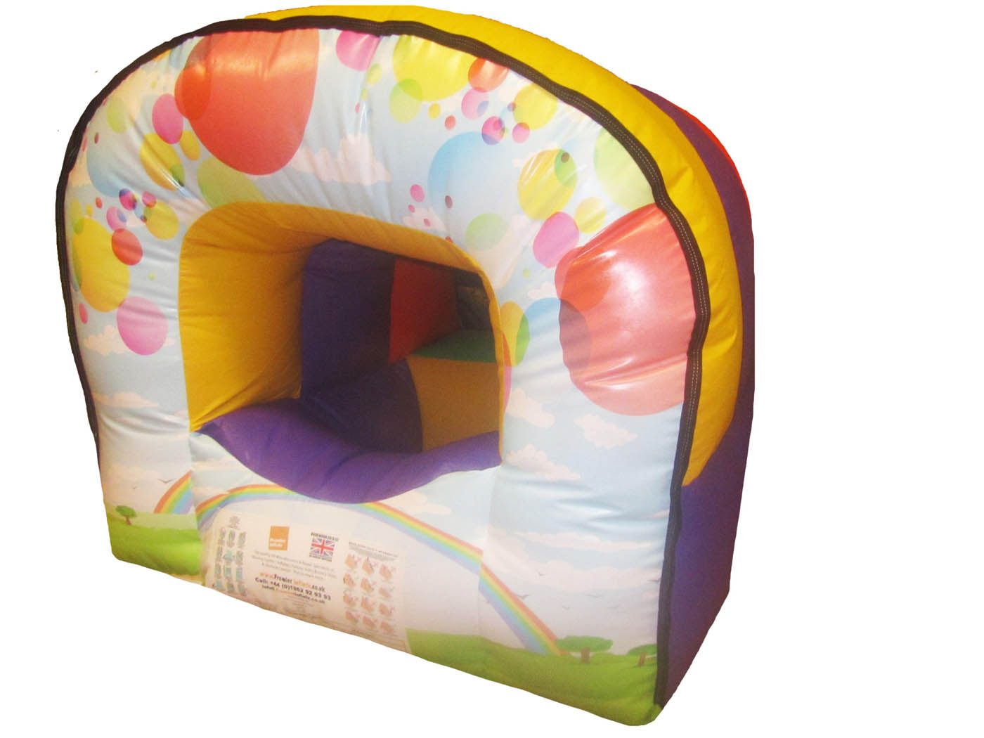 Sensory Inflatable Childrens Soft Play Dome