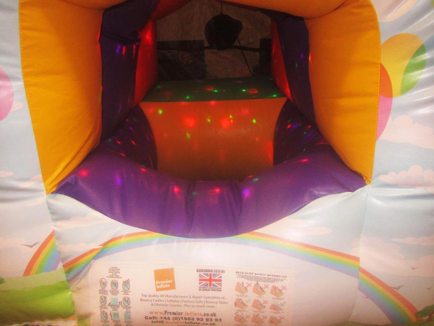 Inside of a Sensory Soft Play Dome