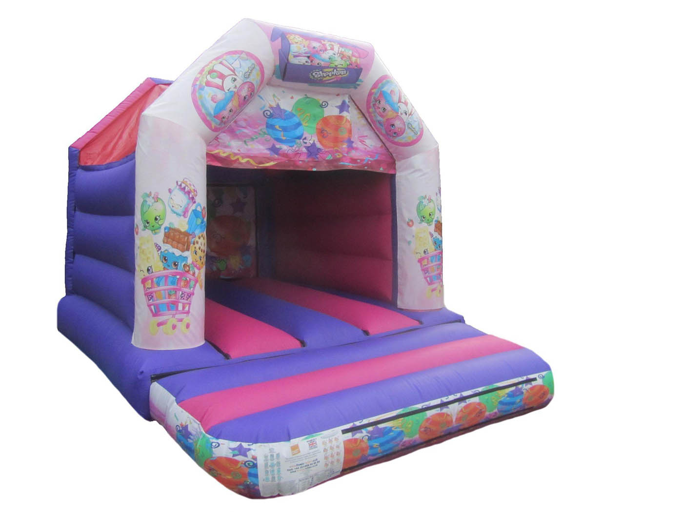 Girls Commercial Velcro Bouncy Castle