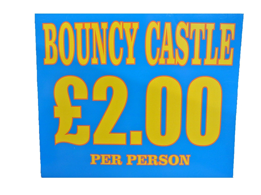 Bouncy castle Advertising Sign