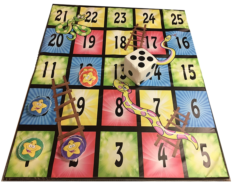 Snakes & Ladders Soft Play Game
