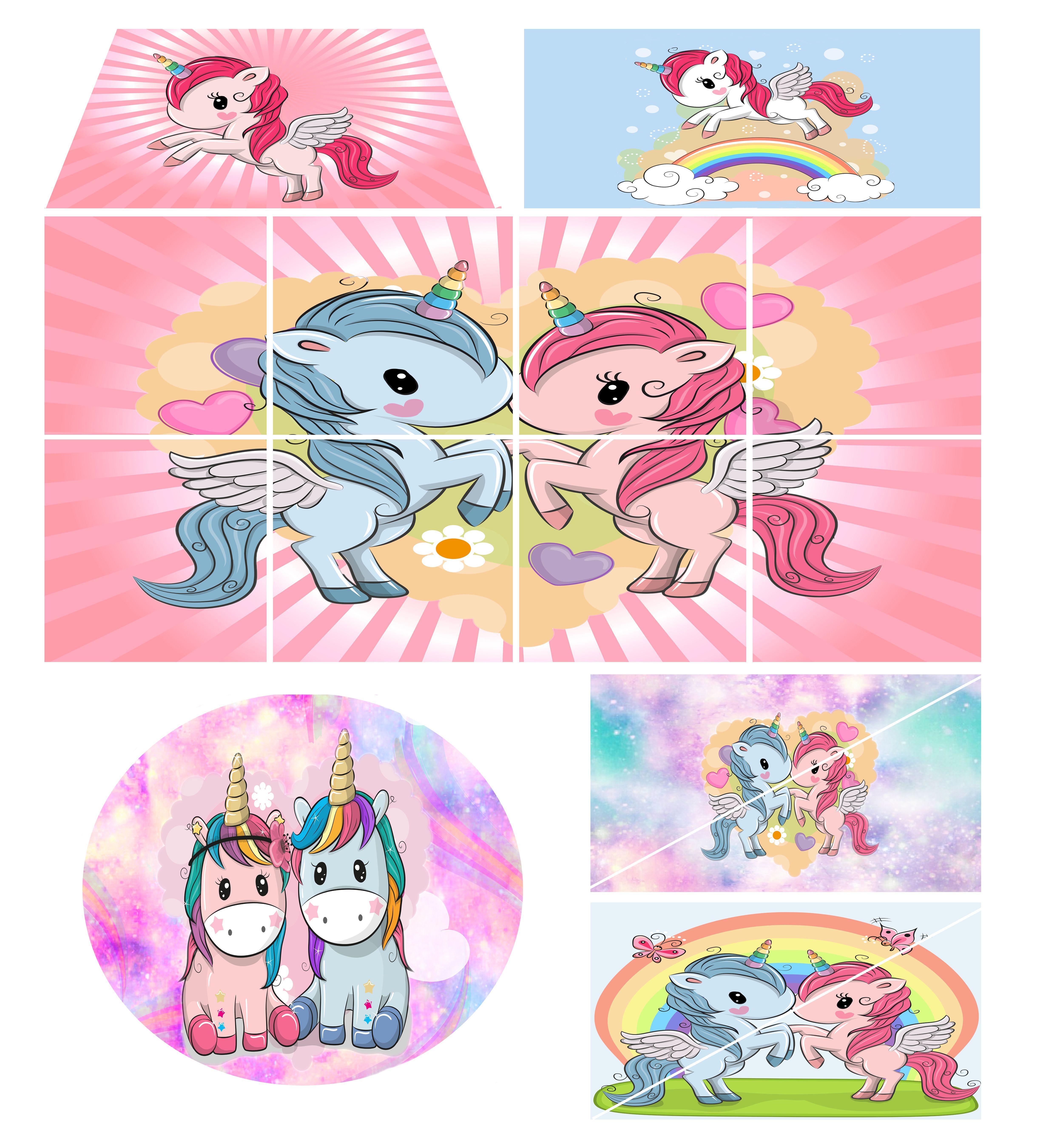 Softplay set unicorn compressor