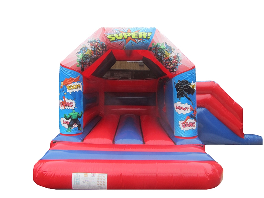 Superhero Combi Bouncy Castle