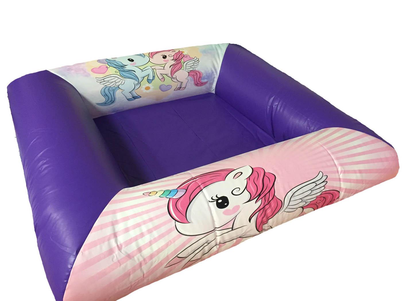 Unicorn Themed Inflatable Ball Pond