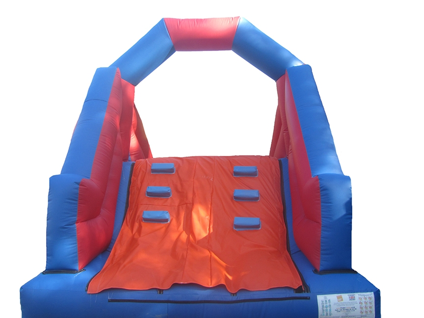 Commercial Inflatable Up & Over Bouncy Slide
