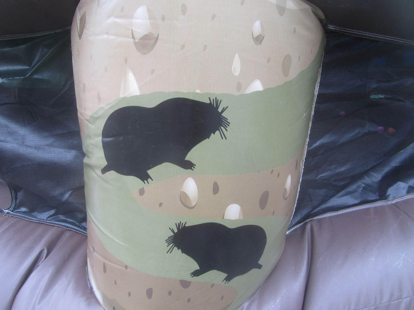 Inflatable Whack A Mole Artwork